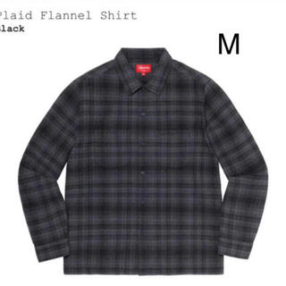 Supreme - supreme plaid flannel shirt M