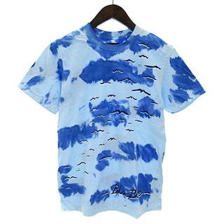 ブルーブルー(BLUE BLUE)のブルーブルー BLUE BLUE Tシャツ 半袖 クルーネック タイダイ 水彩(Tシャツ/カットソー(半袖/袖なし))