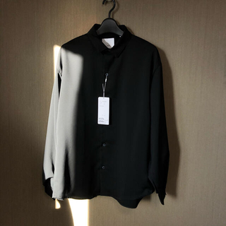 STUDIOUS - 【新品未使用】Lui's 袖ボリュームシャツ ブラック