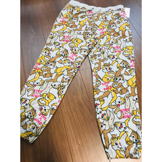 チップアンドデール(チップ&デール)の即完売品 レア チップとデール スウェット パンツ  ズボン ルームウェア(ルームウェア)