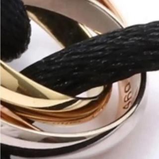 Cartier - ✨未使用カルティエCartierトリニティ18Kゴートブレスネット75020'✨