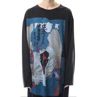 Yohji Yamamoto - Yamamoto Print Long Sleeve Tshirt