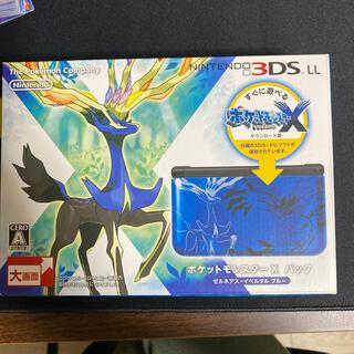 任天堂 - ポケットモンスター X パック ゼルネアス・イベルタル ブルー/3DS/SPRS