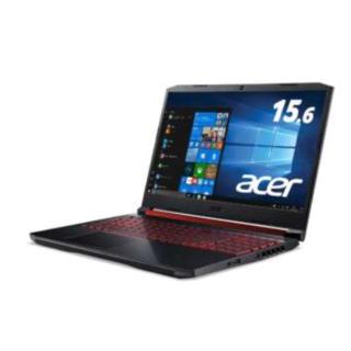 エイサー(Acer)のACER 15.6インチAN515-54-F76QG6 ゲーミングノートパソコン(ノートPC)