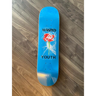 アフターベース(AFTERBASE)のwasted youth × kei コラボ デッキ deck 7%オフ(スケートボード)