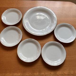 サンローラン(Saint Laurent)の【再値下げしました❗️】イヴサンローラン パーティー皿6枚セット(食器)