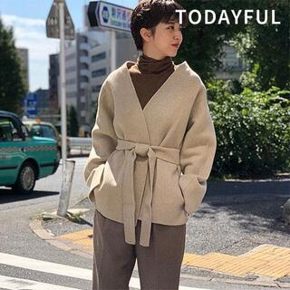TODAYFUL - トゥデイフル  Wool Short Gown 38