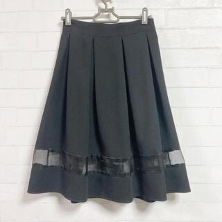 ロジータ(ROJITA)のクチュールバイロジータ♡ブラックすけフレアスカート(ひざ丈スカート)