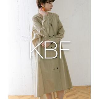 KBF - ✱美品✱ KBF バックプリーツベルトワンピース