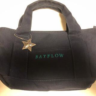 BAYFLOW - ベイフロー  トートバッグ  ミニトートバッグ
