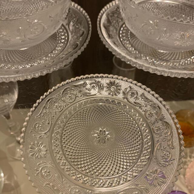 Baccarat(バカラ)のバカラ アラベスク ボウル プレート 5点 インテリア/住まい/日用品のキッチン/食器(食器)の商品写真