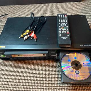東芝 - TOSHIBA SD-V800  VHS一体型 DVDプレーヤー リモコン付き。