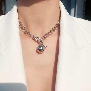 フィリップオーディベール(Philippe Audibert)の#844 import  : ballcatch chain neckless(ピアス)