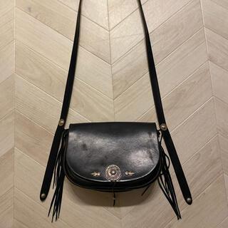goro's - ゴローズ バケットバッグ ショルダー サドルレザー 黒 カバン 鞄 goro's