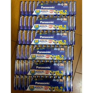 Panasonic evolta アルカリ単3電池 84本