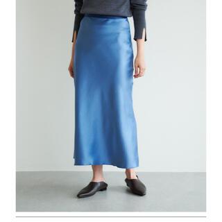 GALLARDA GALANTE - 【GALLARDAGALANTE】ブルーサテンスカート