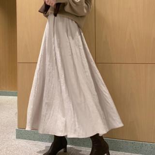 snidel - シャイニープリーツスカート