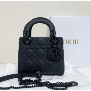 Christian Dior - Dior レディディオール ハンドバッグ マットブラック