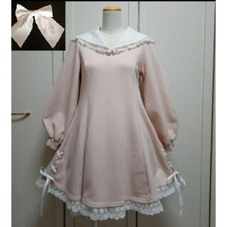 Angelic Pretty - 【ラインセーラーワンピース】 M ピンク
