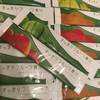 ファビウス(FABIUS)のすっきりフルーツ青汁 14包(青汁/ケール加工食品)