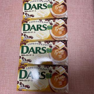 森永製菓 - 森永DARS コーヒーの白いダース 4箱
