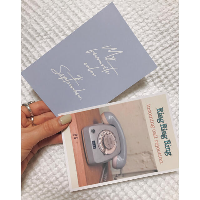 ポストカードセット ♡ 韓国 インテリア インテリア/住まい/日用品のインテリア小物(その他)の商品写真