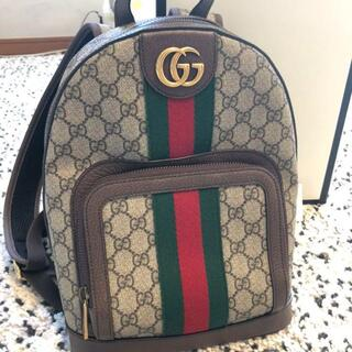 Gucci - GUCCI オフィディアGGスモール☆リュック