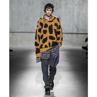 DRIES VAN NOTEN - dries van noten 20aw レオパード柄