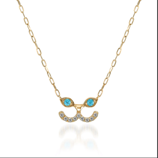 STAR JEWELRY - STAR JEWELRY Girl k10 キャット ネックレス