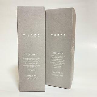 スリー(THREE)のTHREE スキャルプ&ヘア シャンプー/コンディショナー(シャンプー)