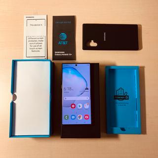 Galaxy - SIMフリー Galaxy Note 10+ 256GB Black スナドラ