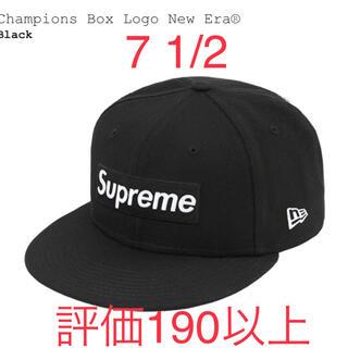 Supreme - 【21ss】supreme newera boxlogo cap シュプリーム