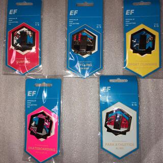 2020東京オリンピック記念品EFピンバッジ全5種類