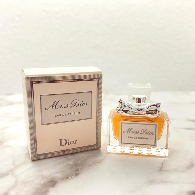 Christian Dior(クリスチャンディオール)の新品 ミス ディオール オードゥ パルファン 5ml コスメ/美容の香水(香水(女性用))の商品写真