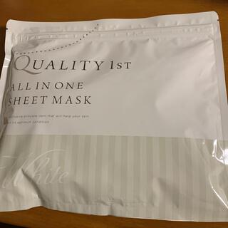 クオリティファースト(QUALITY FIRST)のクオリティファースト シートマスク 50%プラセンタ配合 30枚入り(パック/フェイスマスク)