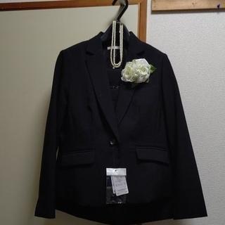 ニッセン(ニッセン)のテーラードジャケット2ボトムスーツセット新品(スーツ)