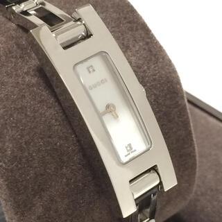 グッチ(Gucci)の2.超美品 グッチ GUCCI 時計 3900L 2P ダイヤモンド(腕時計)