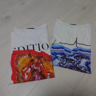 ZARA - ★スカーフ柄Tシャツ★