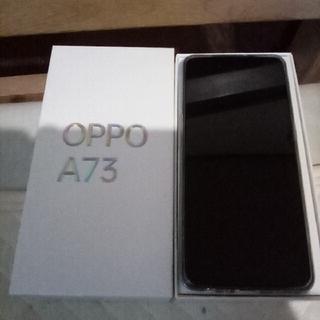 OPPO - oppo  A73 ネービーブルー 4GB   64GB