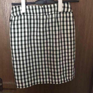 ページボーイ(PAGEBOY)のギンガムチェックスカート(ひざ丈スカート)