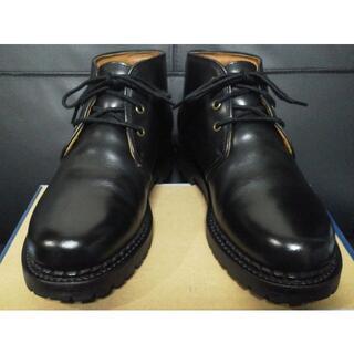 "REDWING - 安藤製靴 PULSE ""250"" 26.0cm 黒 チャッカブーツ"