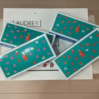 AUDREY ✨お箱入りグレイシアチョコ5個入り・ミルク5個入り各2箱(菓子/デザート)