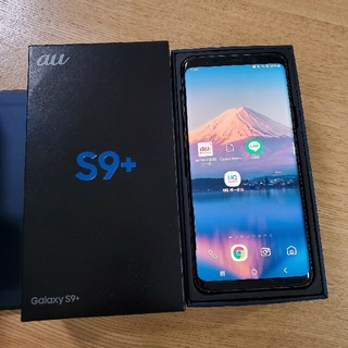 Galaxy - お買い得 美品 Galaxy S9+ Midnight Black 64 GB