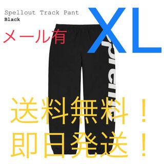 Supreme - 【新品】supreme Spellout Track Pant Black XL