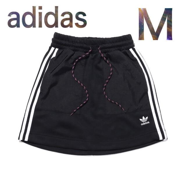 adidas(アディダス)のadidas M スカート 黒 シンプル レディースのスカート(ミニスカート)の商品写真