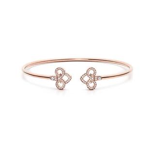Tiffany & Co. - ティファニー フルール ド リス バングル