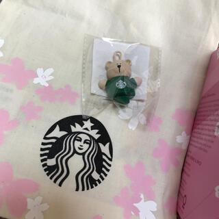 Starbucks Coffee - スターバックス ベアリスタ コットンバックセット キャップ さくら 桜 2021