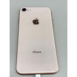 iPhone - 【中古美品】iPhone8 64GB  ゴールド 本体のみ SIMフリー可能