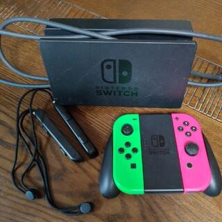 純正switch コントローラー ハイスピードHDMIケーブル ドッグ(家庭用ゲーム機本体)