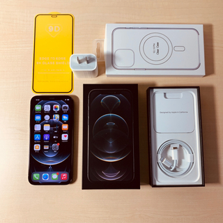 iPhone - SIMフリー iPhone 12 pro 256GB グラファイト 美品